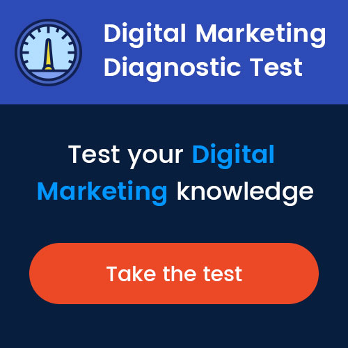 Digital Marketing Diagnostic Test