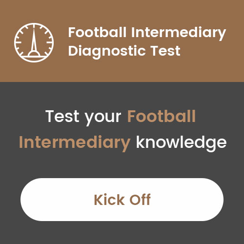 Football Intermediary Diagnostic Test
