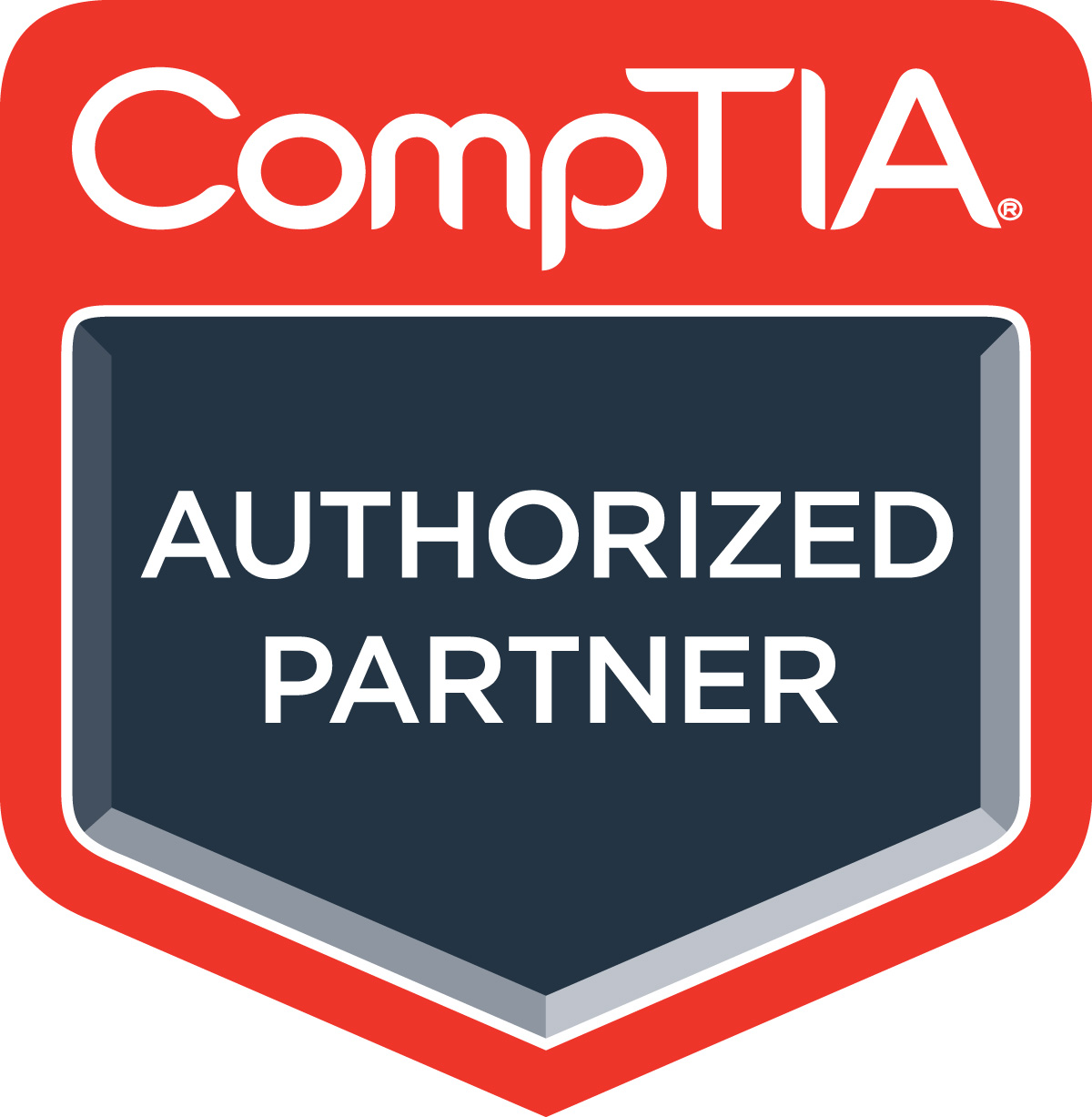 CompTIA Authorised Partner Logo