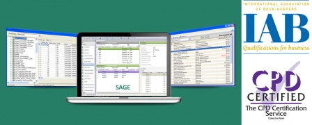 Sage 50 Accounts 2014 - CPD Certified and Recognised by the IAB