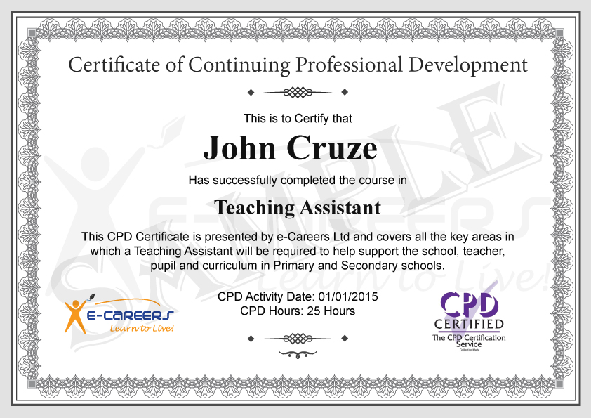 Teaching Assistant Level 1 Certificate